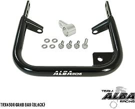 TRX 450R (2004-2009/2012-2014) ATV Rear Grab Bar Bumper - Compatible with Honda - Black