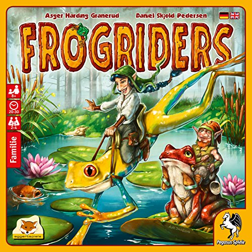 Pegasus Spiele 54568G - Frogriders