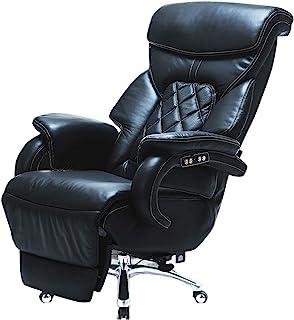HIZLJJ Boss Chair,Computer Chair Office Furniture Office Chair Reclining Ergonomic Design Comfortable President Chair Recl...