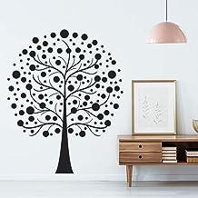 Pegatinas de árbol T-MK071 – negro – 54 x 66 cm