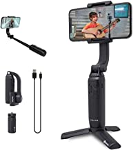Feiyutech Vimble One Foldable Smartphone Gimbal Stabilizer Compatible for All iPhone Series, Huawei/Samsung/Xiaomi/VIVO/Oppo, etc(Under 6.6 inch) with Tripod.