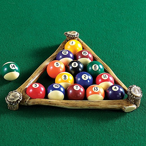 Black Forest Décor Antler Pool Ball Rack