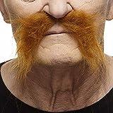 Mustaches Fausse Moustache, Auto-Adhésives, Nouveauté, Réaliste Fu Manchu Faux...