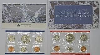 1997 P & D Mint Set Uncirculated Coin Set OGP