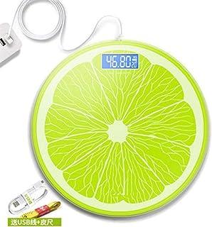 UYZ Báscula de Peso Profesional Báscula de Altura y Peso Salud del Cuerpo Humano Báscula de baño Báscula de Peso Precisión electrónica Duradera (Color: Carga)