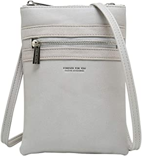 Cyanb Designer Soft Small Crossbody Bag Casual Mini Cell Phone Purse for women Girls