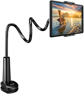 Tryone Gooseneck Tablet Stand, Tablet Mount Holder for iPad iPhone Series/Nintendo Switch/Samsung Galaxy Tabs/Amazon Kindl...