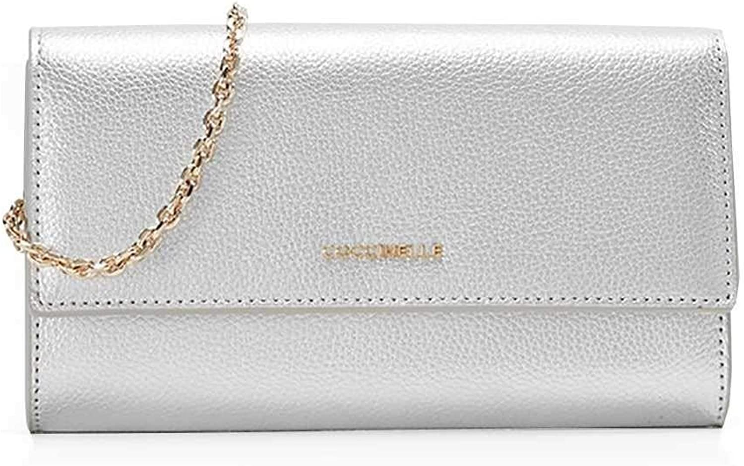 COCCINELLE Wallet METALLIC SOFT Female Leather Silver  E2DW5110701Y69