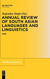 Annual Review of South Asian Languages and Linguistics: 2008
