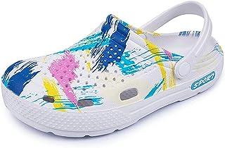 N-B Hombres Y Mujeres Camuflaje Al Aire Libre Agujero Zapatos Sandalias Playa Pareja Zapatillas Planas Jardín Zapatillas Z...