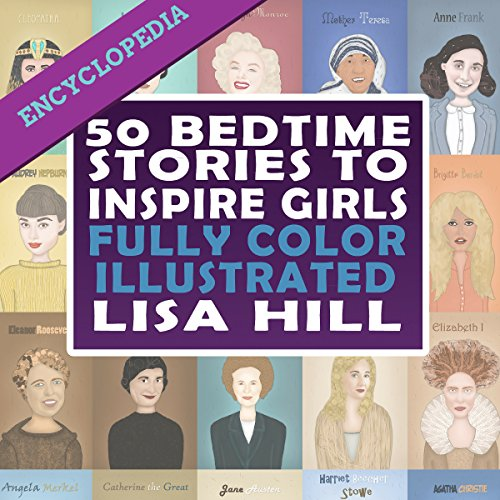 50 Bedtime Stories to Inspire Girls audiobook cover art