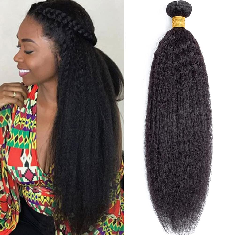 MSGEM Kinky Straight Human Hair E 1 9A Bundle Discount is Direct stock discount also underway Yaki