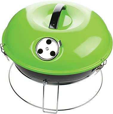 Brentwood BB-1400G 14 Inch Portable Charcoal BBQ Grill, Green