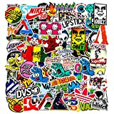 100Pcs Cool Stickers, Vinyl Laptop Stickers for Teens Waterproof Brand Stickers for Car, Phone, Guitar, Laptops Stickers and Decals