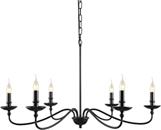 SEOL-LIGHT Classic Candelabra Style Branch Chandeliers Ceiling Hanging Pendant Light Fixture 36