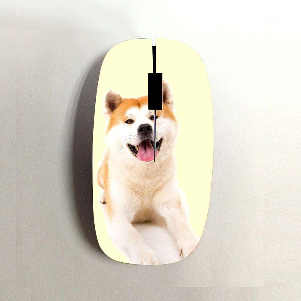 Babu Building Great Use As Mouse Mat 240Mmx200Mmx2Mm Print Akita for Boys Silicone