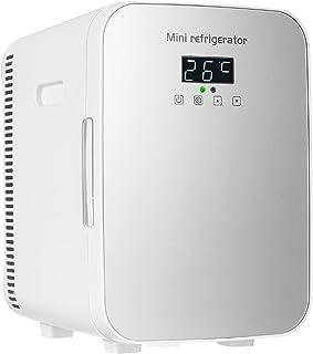 Mini kylskåp kylare, kompakt kylskåp, dryck kylskåp med justerbar hyllplan, lämplig för soda öl eller vin, lämplig för he...