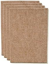 The Felt Store Vilten gesneden, ca. 11 cm x 15 cm x 0,5 cm dik, beige, extra duurzaam - 4 vellen