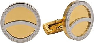 Diamond Moon Stainless Steel Cufflinks for Men, Stainless Steel - 1800541240417