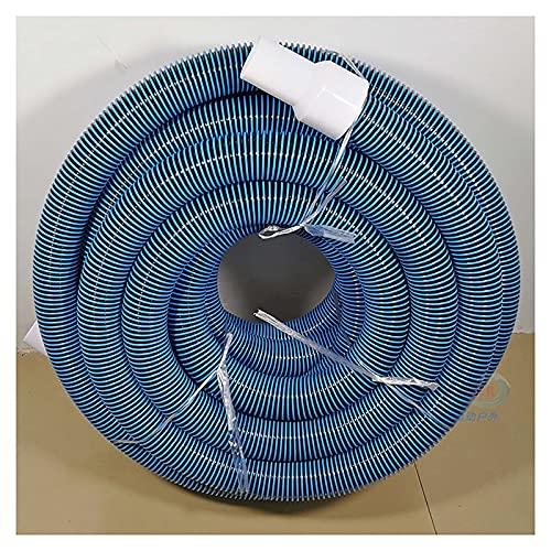OVBBESS Manguera para Piscina,Manguera en Espiral para aspiradora,Filtro Flexible para Limpieza de tubería,diámetro de 2 pulg.