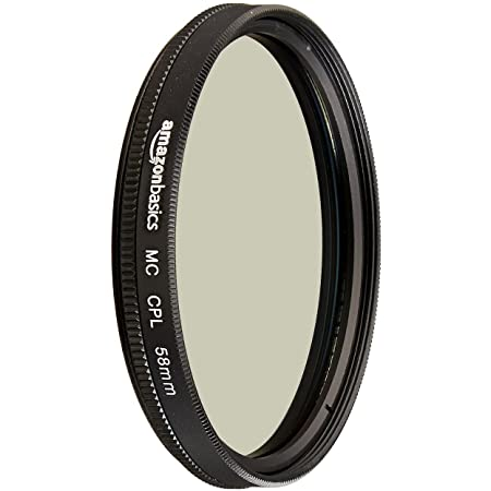 Amazon Basics Filtre polarisant circulaire - 58mm