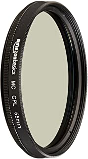 Amazon Basics - Filtro polarizador circular - 58mm
