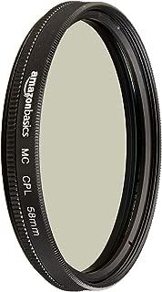 AmazonBasics Circular Polarizer Filter- 58 mm