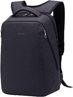 Kopack Laptop Backpack Anti Theft Travel Backpack Bag for Men Women Water Resistant Lightweight fit 15.6 17 Inch Laptop Notebook Black