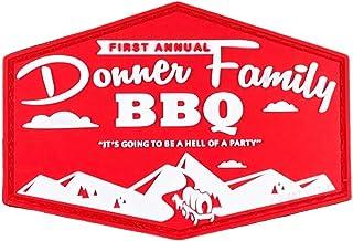 Donner Family BBQ` Morale Patch by Violent Little Machine Shop - PVC Velcro