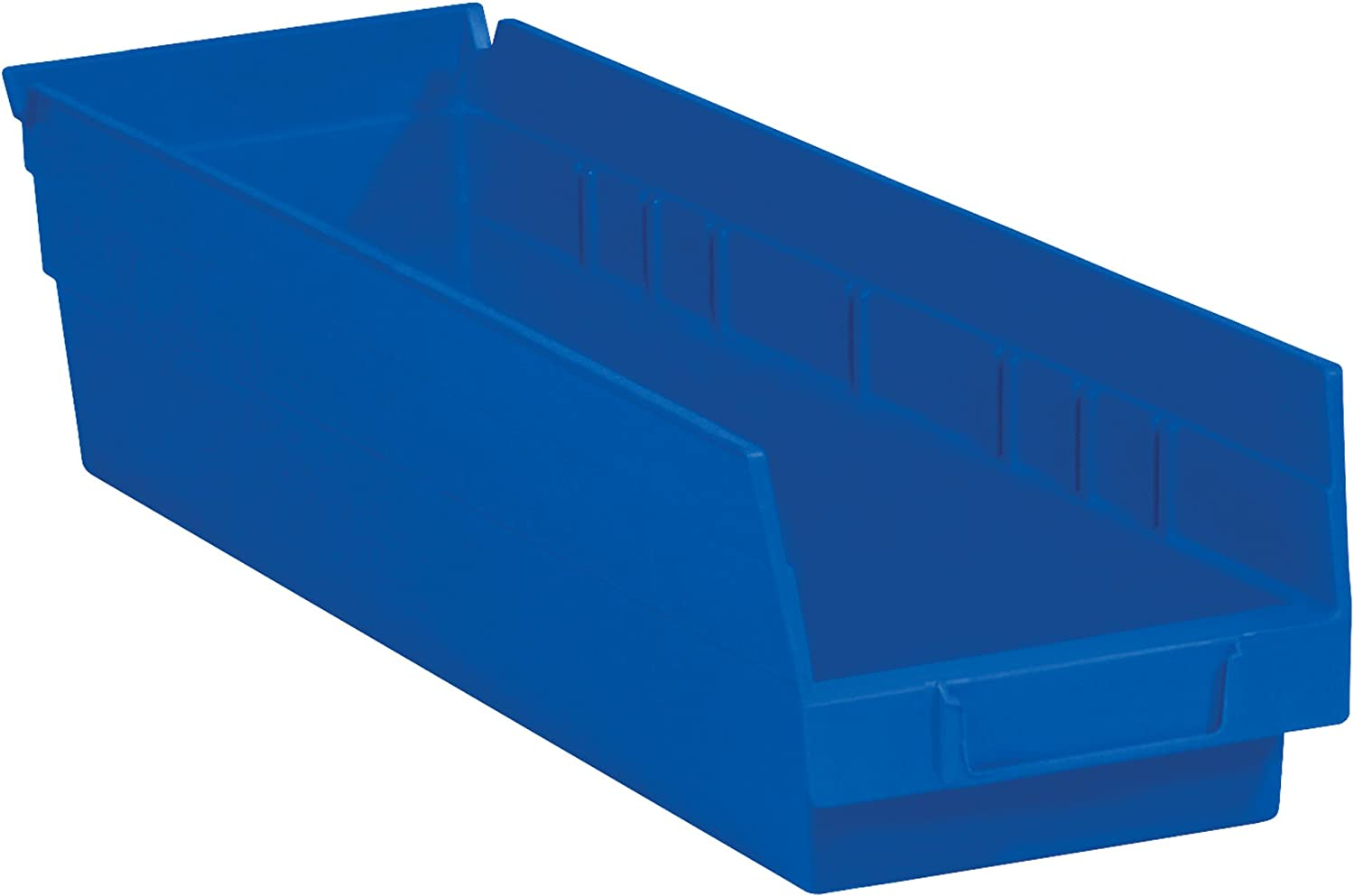Poly Lowest price challenge New products, world's highest quality popular! Bag Guy Plastic Shelf Bin Boxes 17 Blu 8