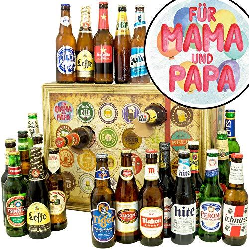 Für Mama & Papa / 2019 Bier Adventskalender/Bier aus der Welt