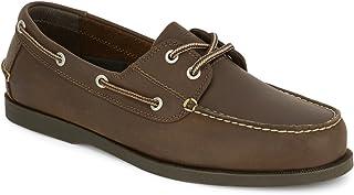 Dockers Men's Vargas Leather Handsewn Boat Shoe