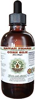 Corn Silk Alcohol-FREE Liquid Extract, Organic Corn Silk (Zea Mays) Dried Silk Glycerite Hawaii Pharm Natural Herbal Suppl...