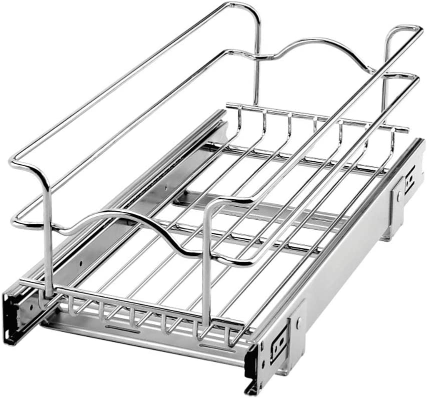 Rev A Shelf 5WB1-0918-CR 9 x 18 Inch Cabinet overseas Pull Kitchen Ba Mail order cheap Out