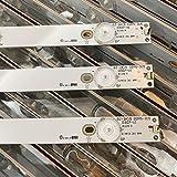 LMIAOM 3 PCS/set LED de luz de fondo Strip for 32PFT4100 32PHH4100 LG 32LH500D 32PFT5500 32PFH4100 32PFH4309 32PHT4319 32PFK4309-TPV-TPT315B5 Nueva barra de luz LED