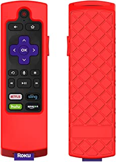 VSEER Case for Roku 2017/2018 Remote Controller - Silicone Shock Resistant Cover for Ruko 2017 Remote Controller Streaming...