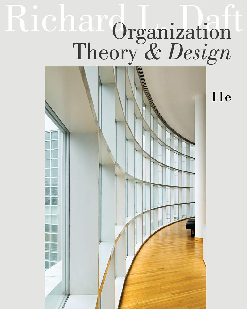 Image OfOrganization Theory And Design