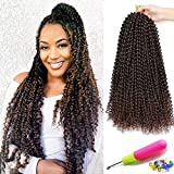 Passion Twist Water Wave Synthetic Braids Hair for Butterfly Locs Crochet Braids Hair Water Wave Kankelon Crochet Braiding Hair for Passion Twist Crochet Braids Hair Extensions