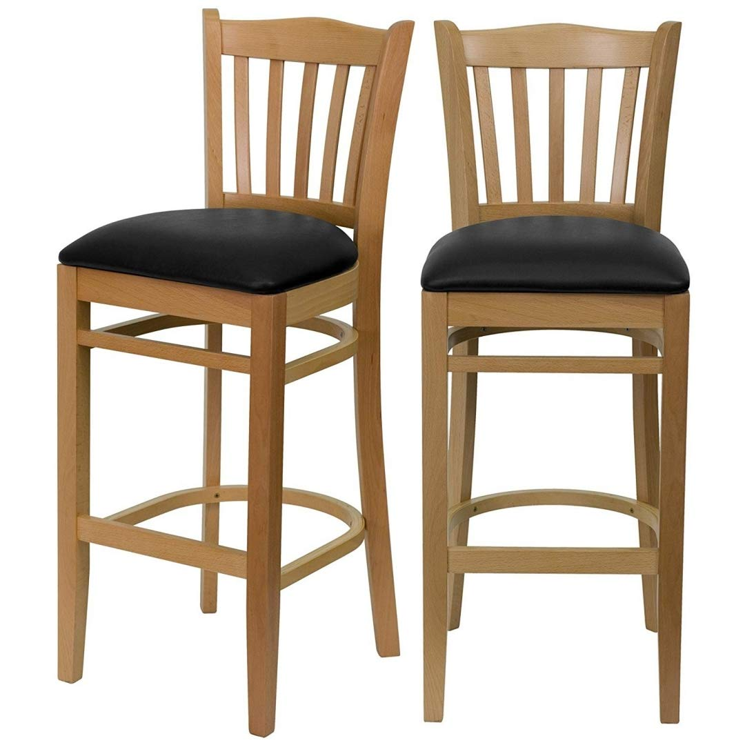 Classic Ranking TOP11 Modern Style Wood Dining Bar Height Restaurant Commercial Chairs