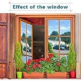 RH Art Sonnenschutzfolie Fenster UV-Schutz Verdunkelungsfolie Sichtschutz Spiegelfolie - Silber, 90 x 200 cm - 6