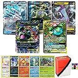 Pokemon Ultra Rare Lot - 5 Random Cards - All Ultra Rare - V, Tag Team, GX, MEGA EX, Trainer, EX and/or Shining - Includes Limited Edition Totem Deck Box