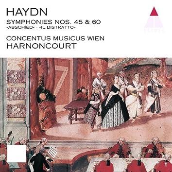 Haydn : Symphonies Nos 45 & 60