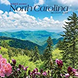 North Carolina Wild & Scenic 2022 12 x 12 Inch Monthly Square Wall Calendar, USA United States of America Southeast State Nature