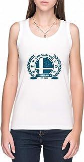 Smash Club Canotta T-Shirt Donna Bianca