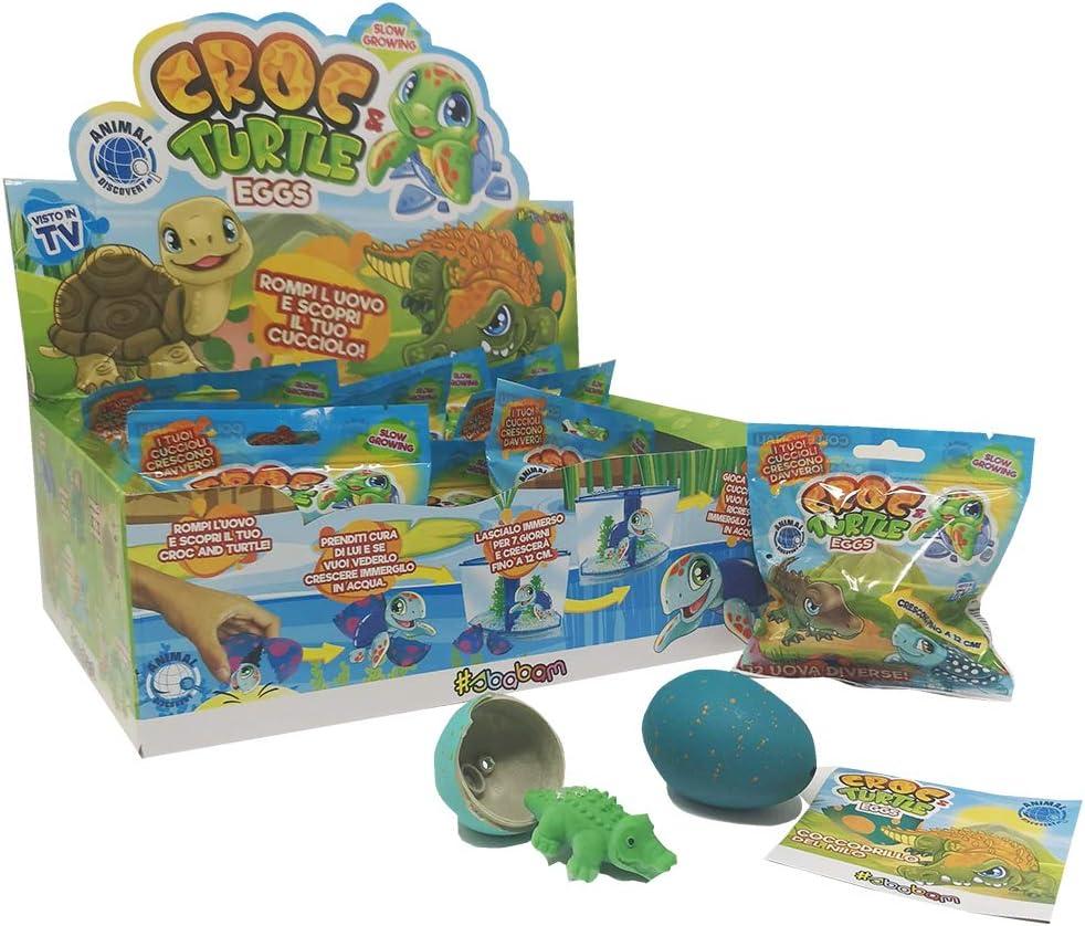 Croc & Turtle Eggs - Pack de 4 Sobres