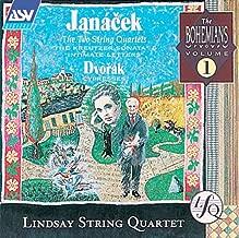 Janacek: The Two String Quartets - The Kreutzer Sonata & Intimate Letters / Dvorak: Cypresses Bohemians, Vol. 1