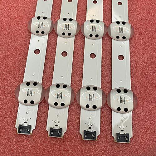 4 tiras de retroiluminación LED para LG 65UK6300 65UK6400 65UK6470PLC 65UK6400PLF 65UK6300PUE SSC_65UK63_9LED_SVL650A95...