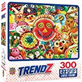 MasterPieces Trendz 300 Puzzles Collection - Funny Face Food 300 Piece Jigsaw Puzzle, 18' x 24'