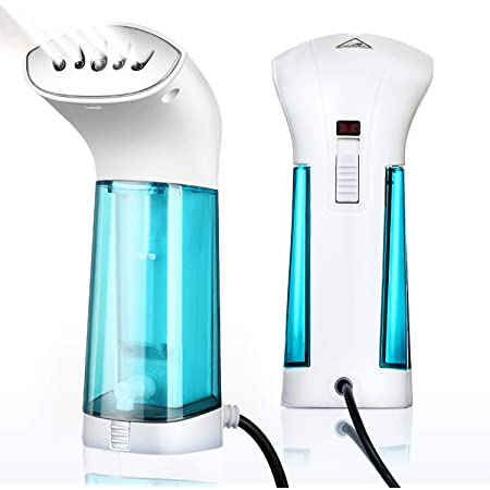 Fabrics Removes Wrinkles for Fresh Clothing Remove Wrinkles//Soften//Clean//Sanitize//110V Steamer for Clothes 25s Heat Up and Auto Off Hand Held Portable Home//Travel Garment Steamer