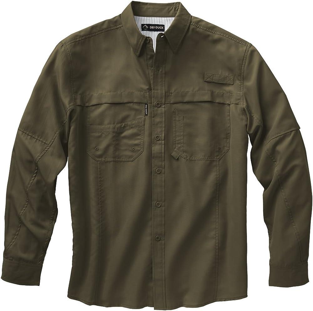 DRI Duck Men's 4405 Catch l/S Fishing Shirt